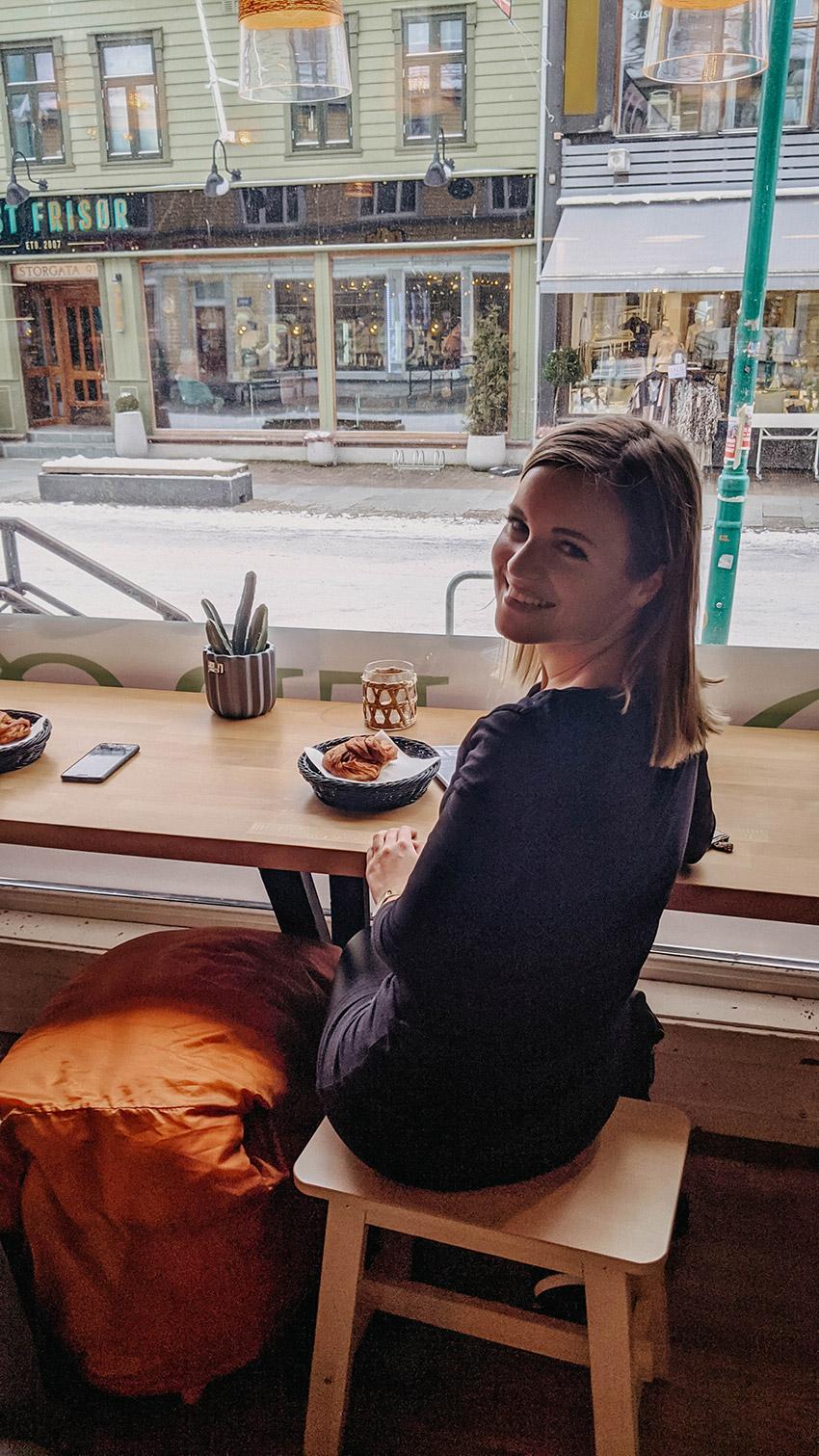 Frühstück Tromsø