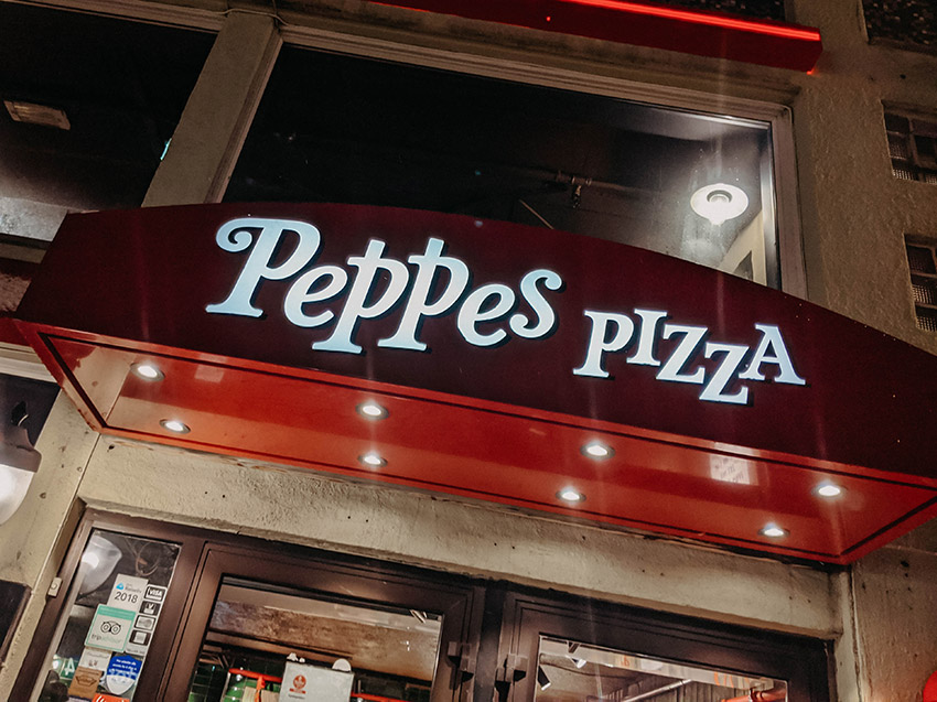 Restaurant Peppes Pizza