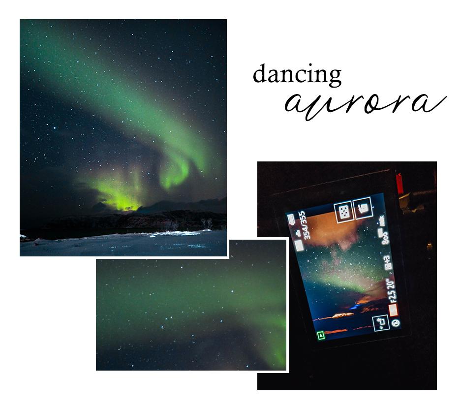 Aurora Borealis Nordlichter Tromsø