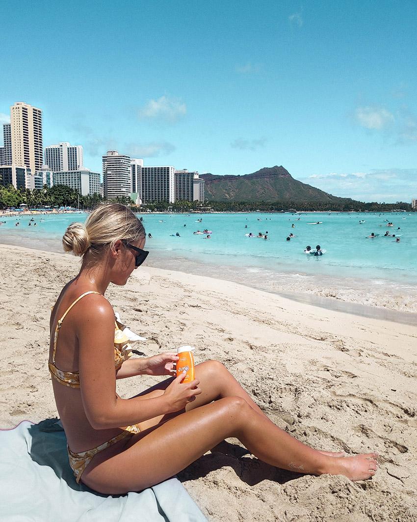 Sonnenschutz Strand