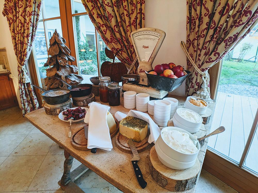 Frühstück im Hotel Peterndorf