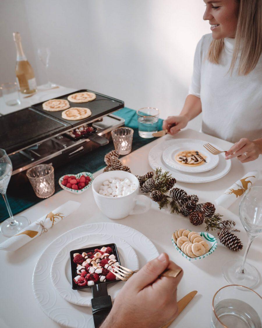 Raclette süß Dessert