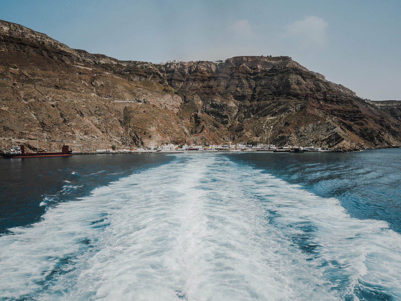 Fähre Santorin