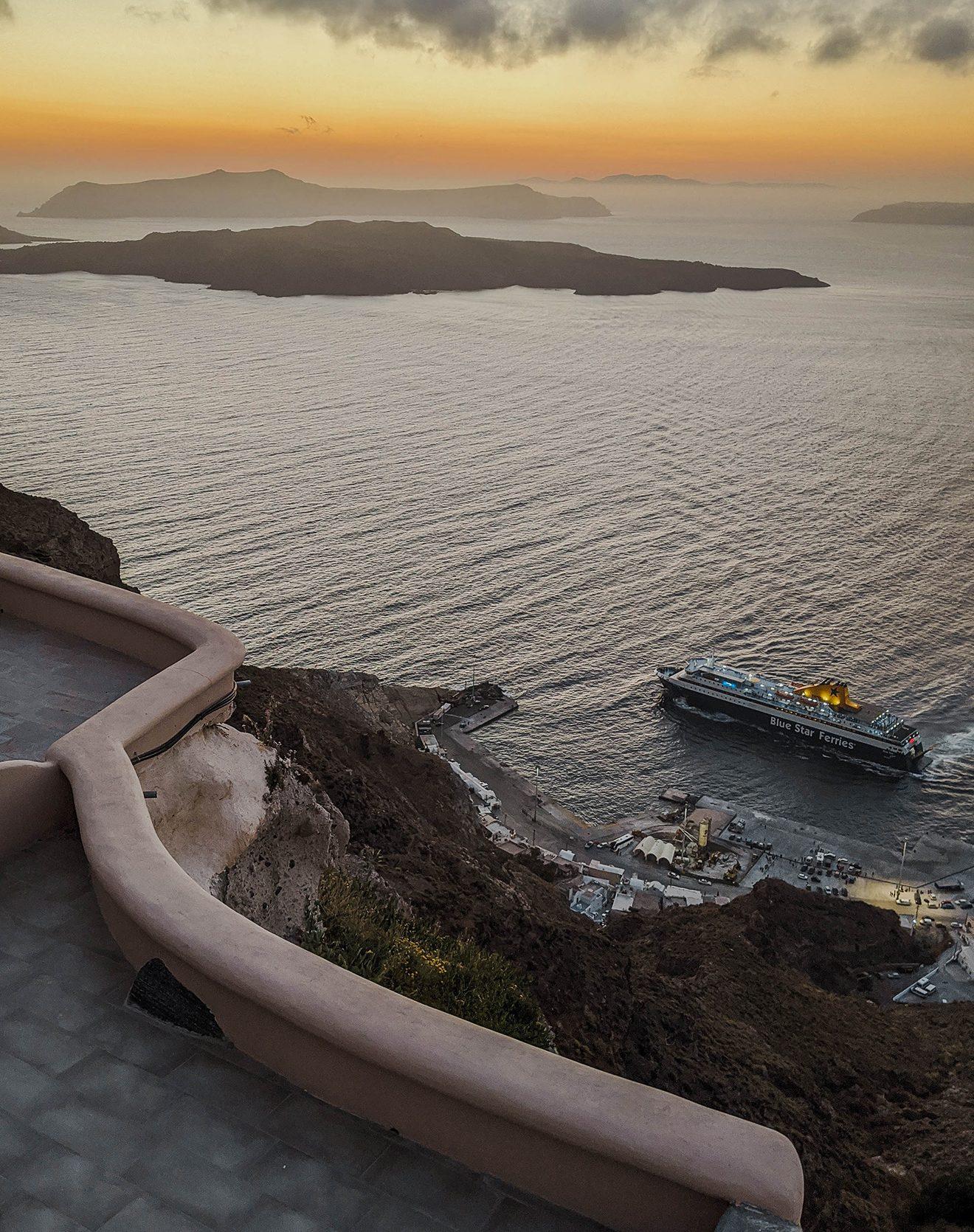 Santorin Sonnenuntergang