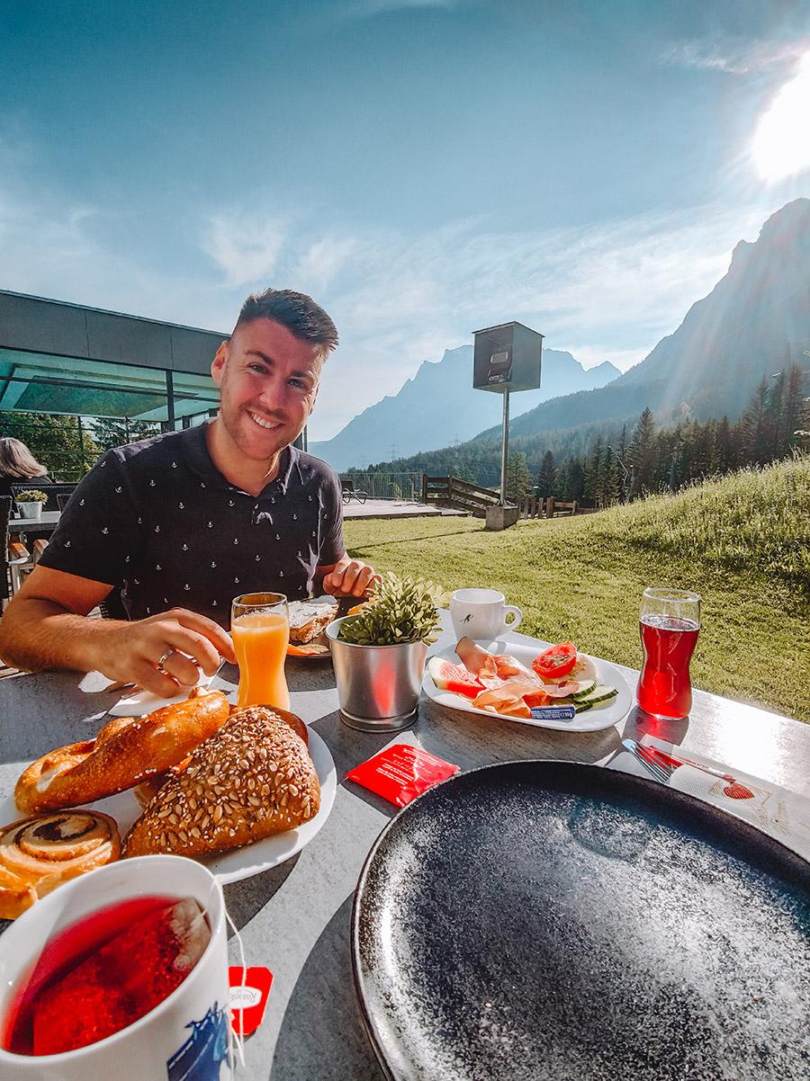 Frühstück Zugspitze